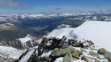 Blick vom Gipfel nach Norden