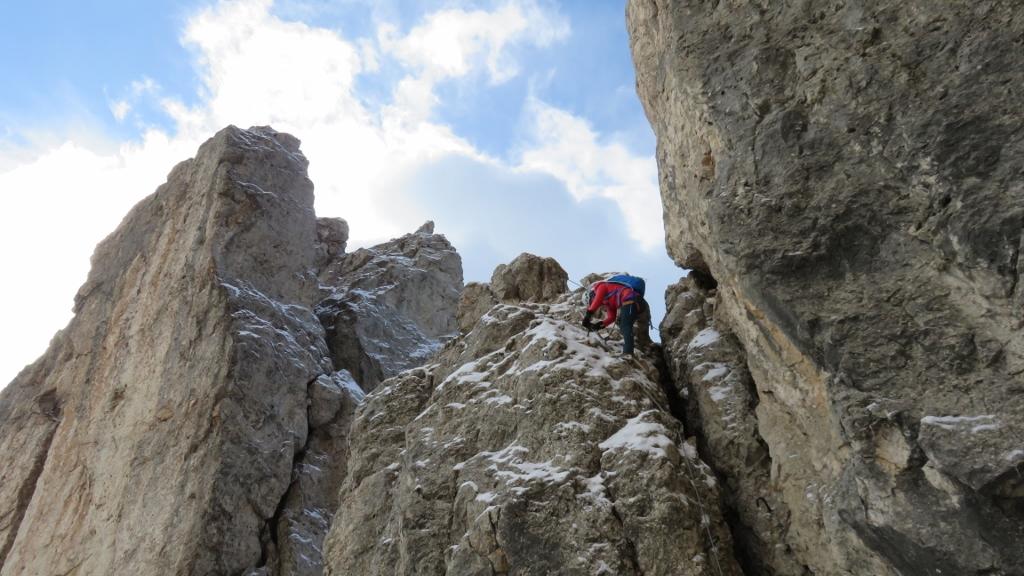 Klettersteig Rotwand : Rotwand klettersteig u alpino