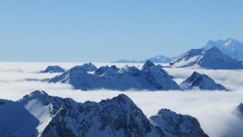 Nebelmeer in Tessin