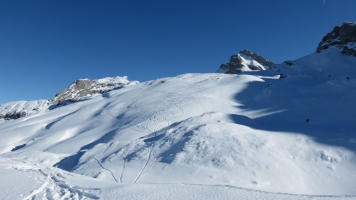 Abfahrt zur Oberalp