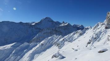 Sernftal im Schnee