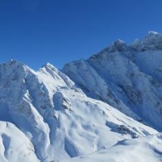 Sardona mit viel Schnee