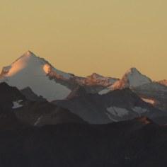Rheinwaldhorn im Morgenlicht