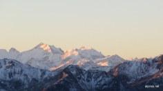 Blick ins Bernina-Gebiet