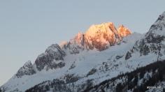Poncione die Cassino Bagia in der Morgensonne