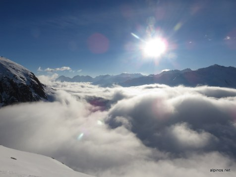 Wolkenspiel beim Pass Tiarms