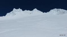 Sulzschnee in der Flanke
