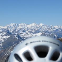 Panorama mit Helm