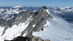 Blick vom Gipfel nach Süden
