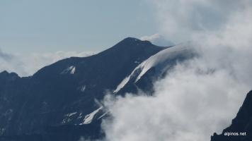 Blick zur Eisnase des Bifertenstocks