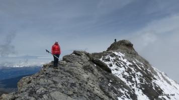 Gipfelgrat des Mont de l'Etoile