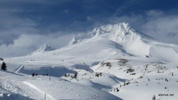 die Südflanke des Mount Hoods