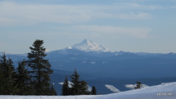 Mount Williams von der Timberline Lodge