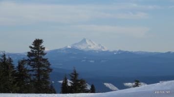 Mount Williams von der Timberline Lodge