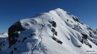 Wühlen zum Gipfel